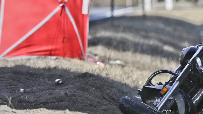 Tragiczna śmierć motocyklisty. Siła uderzenia wyrzuciła go z siodła