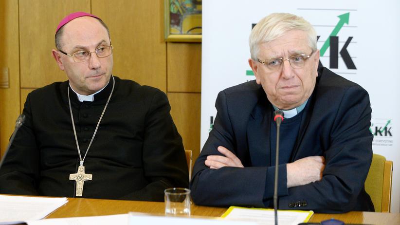 abp. Wojciech Polak i ks. Adam Żak