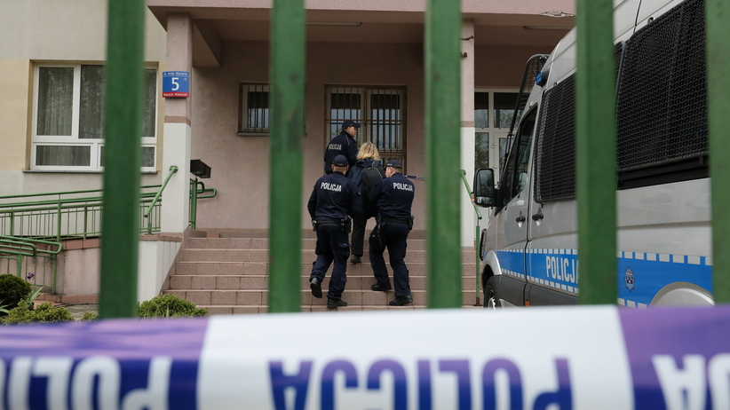 Morderstwo w szkole na Wawrze