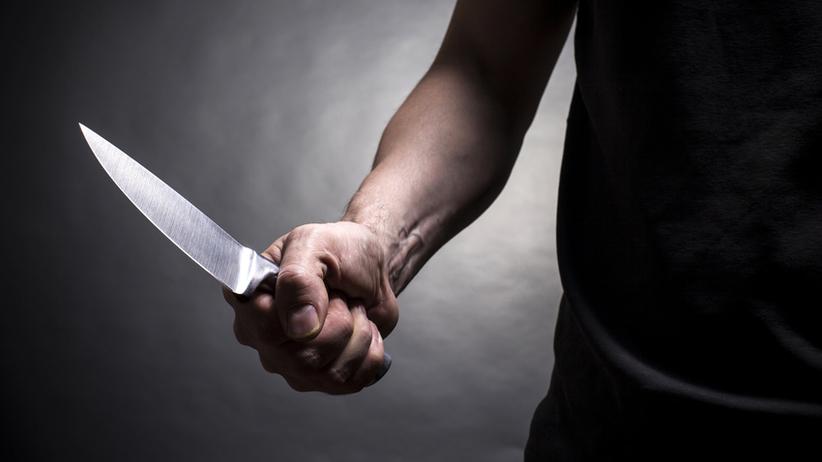 Bielany, atak nożownika
