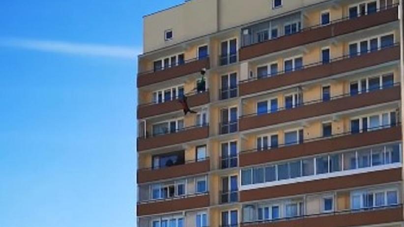 Skok z 20. piętra