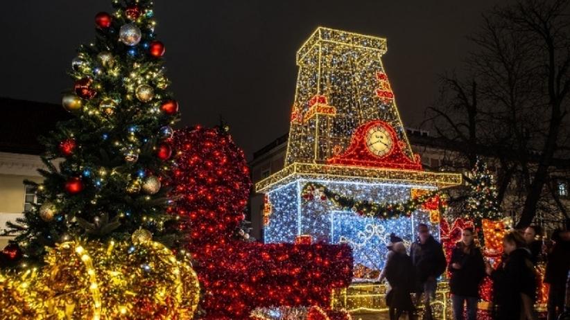 Iluminacja świąteczna w Warszawie