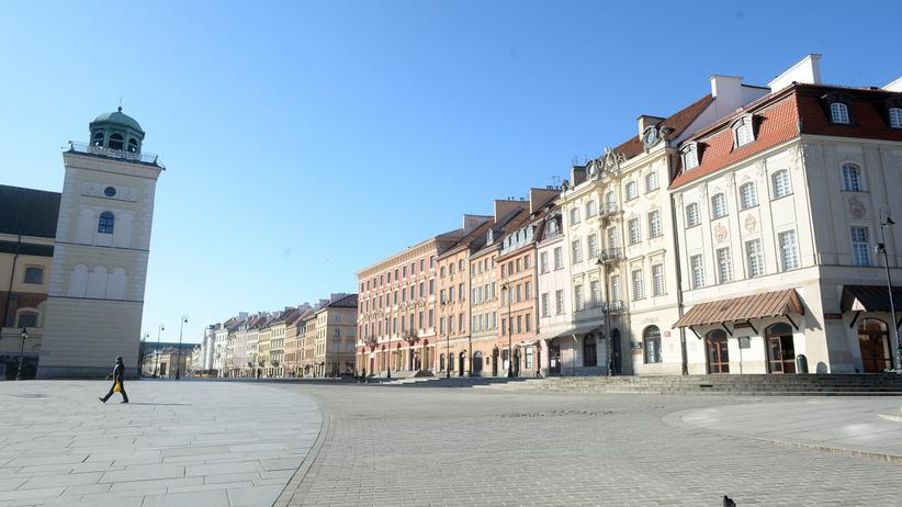 Koronawirus w Warszawie: parkingi