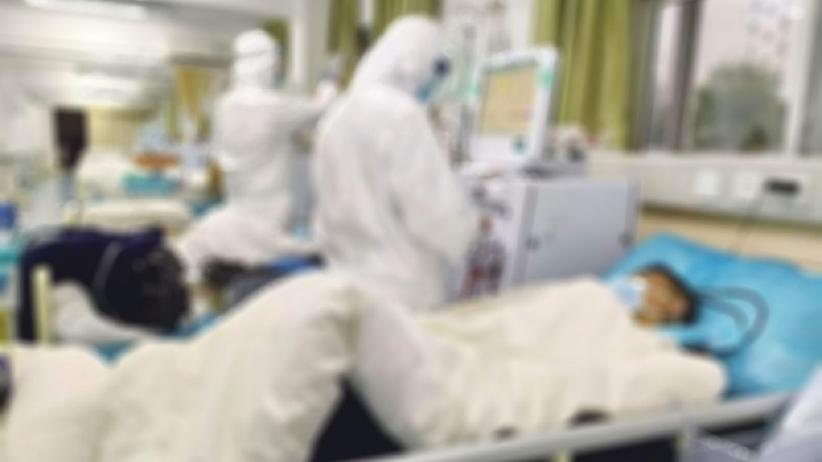 Koronawirus - chora pielęgniarka