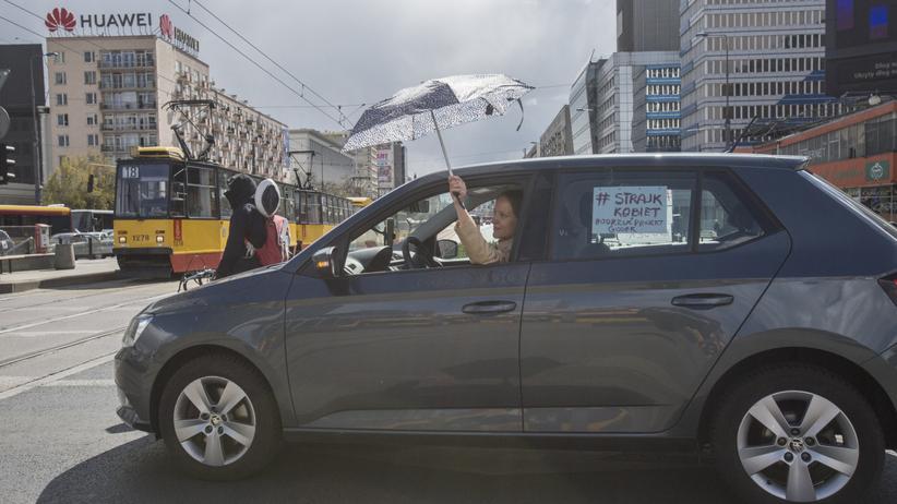 Samochodowy Strajk Kobiet