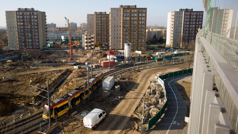 budowa metra na Bródnie