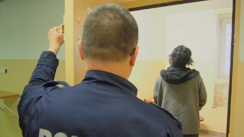 Zestresowała się, gdy zobaczyła policje. Miała powód