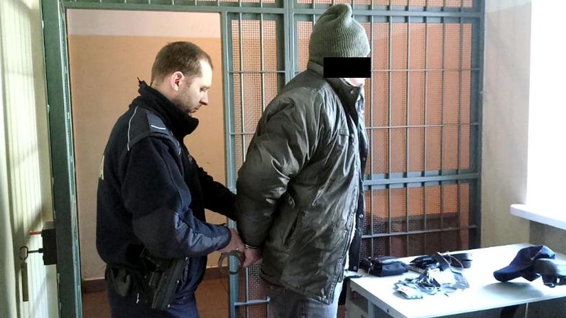 Ukrainiec zatrzymany w Pruszkowie