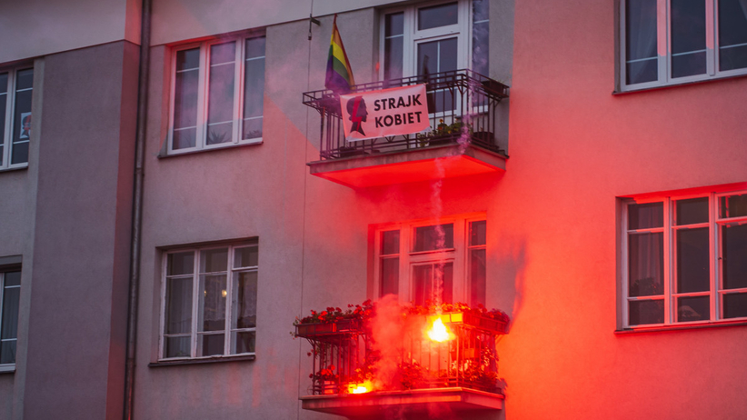 Podpalenie mieszkania na Marszu Niepodległości