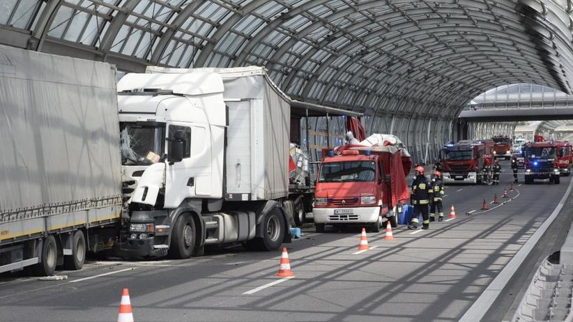 Wypadek na S8 Warszawa