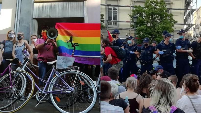 Protest LGBT Warszawa