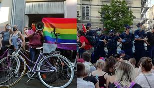 Protest LGBT w W-wie. Jedna osoba zatrzymana