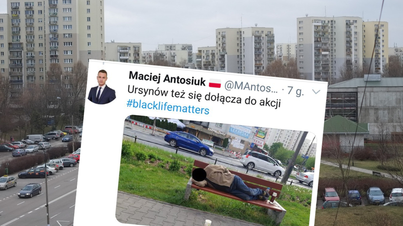twitt radnego Macieja Antosiuka