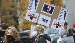 Strajk Kobiet pod Sejmem. ''Zróbmy mały lockdown''