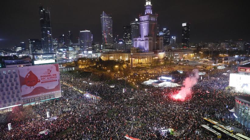 Protest w Warszawie, 30 października
