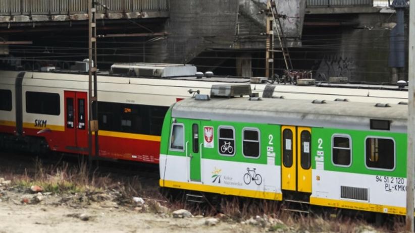 Pociąg potrącił 80-latkę