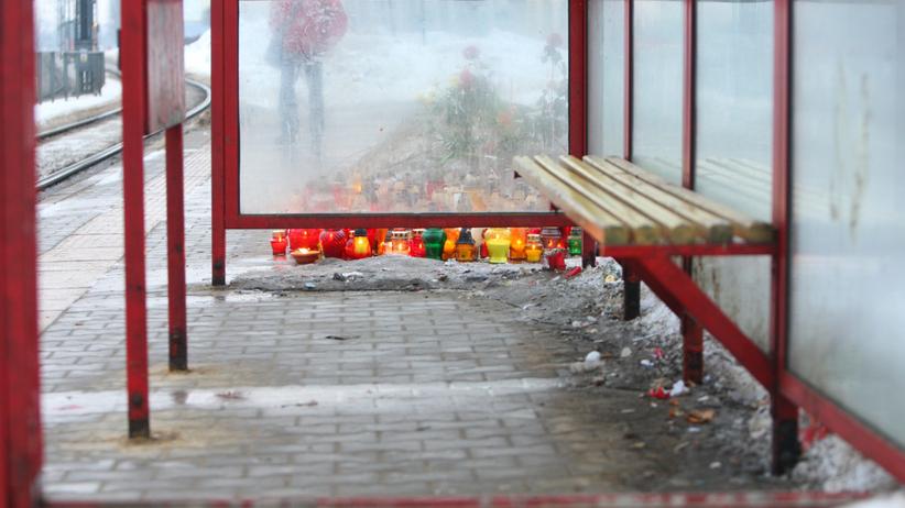 miejsce zabójstwa policjanta Andrzeja Struja