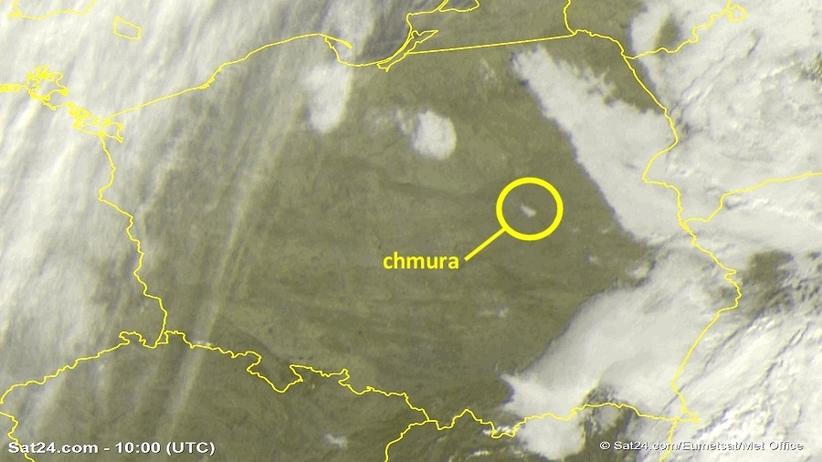 Chmura nad Warszawą