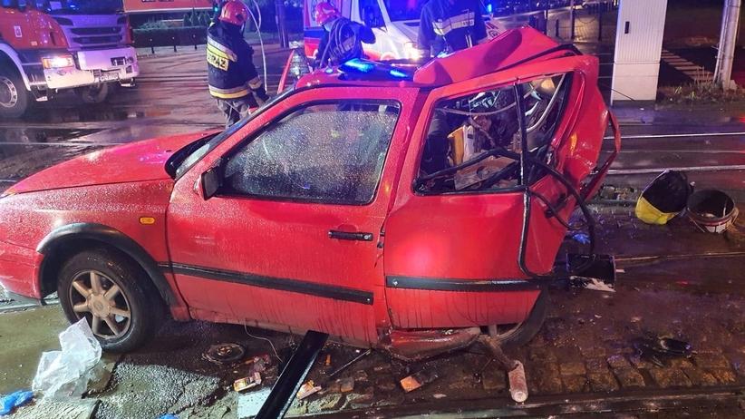 Wypadek na Muranowie