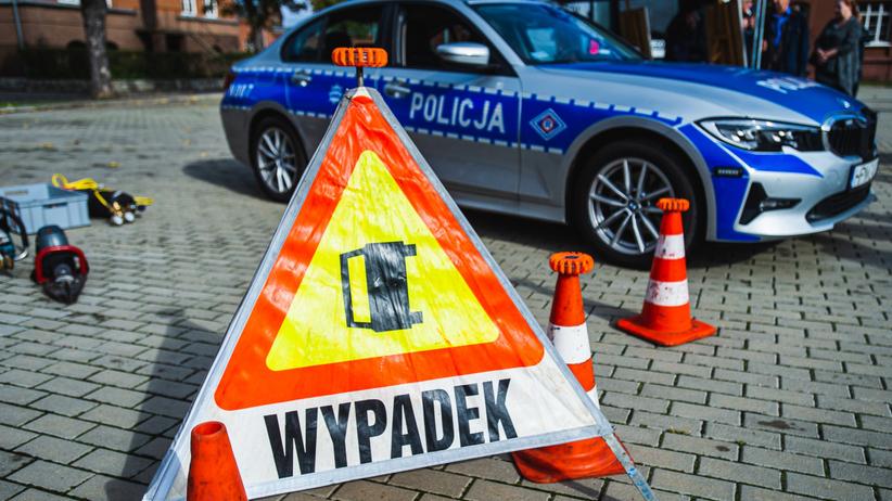 Wypadek ulica Grochowa