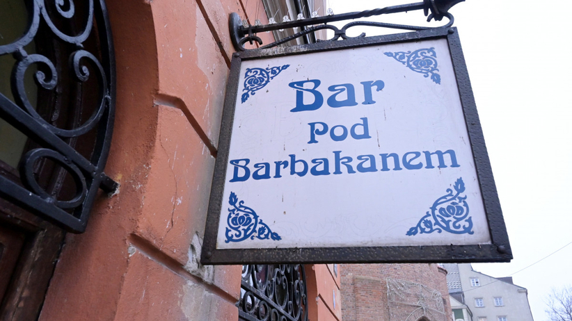 "Bar mleczny ""Pod Barbakanem"""