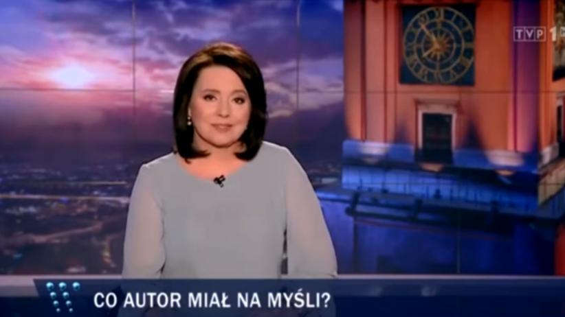 TVP Wiadomości Danuta Holecka