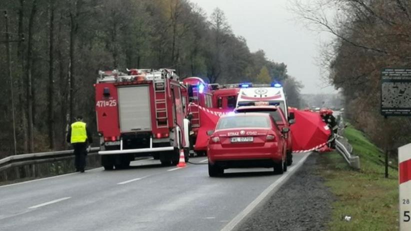 Wypadek na dk61