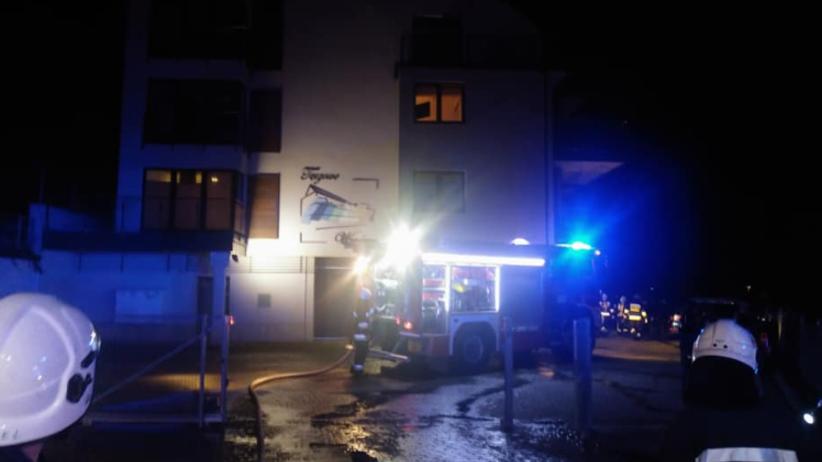 Pożar w apartamentowcu ''Tęczowe Wzgórze''. Ewakuowano 66 osób