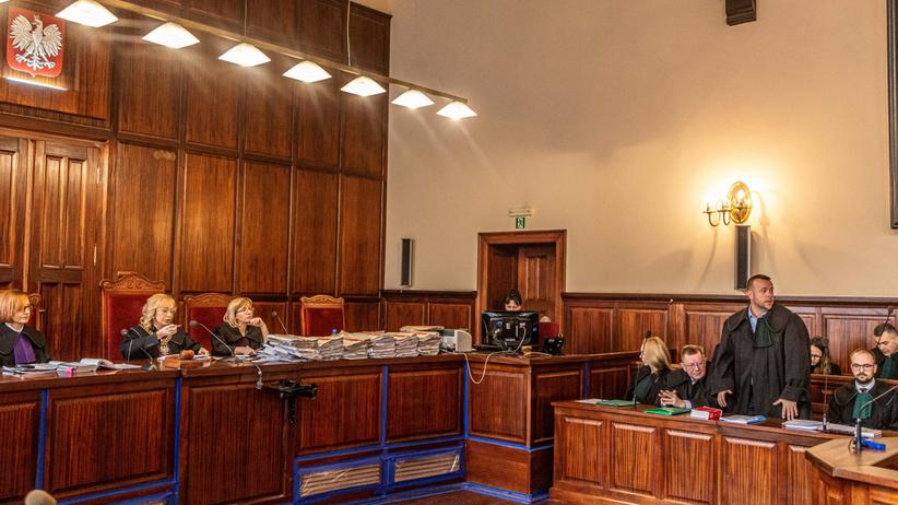 Sąd, rozprawa ws. Igora Stachowiaka