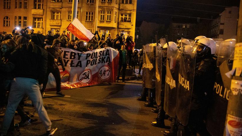 Marsz narodowców Wrocław
