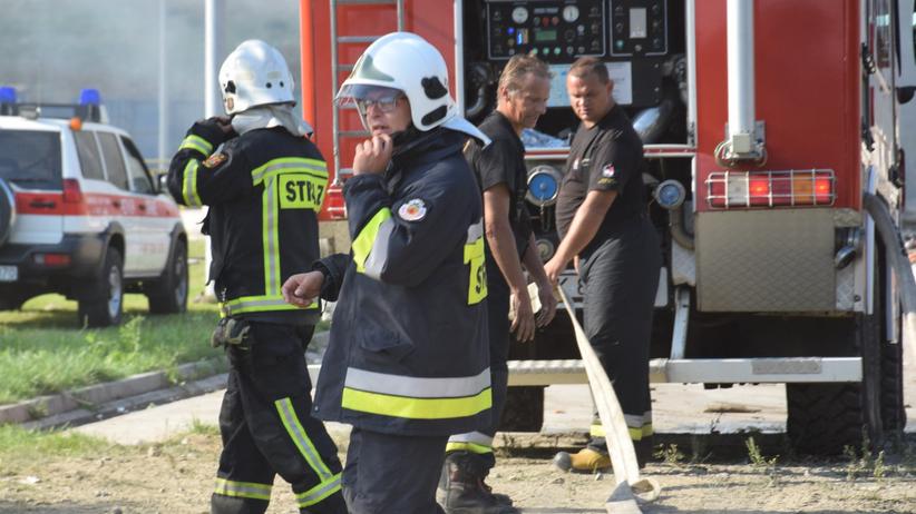 Tragiczny pożar w domu wielorodzinnym. Nie żyją dwie osoby
