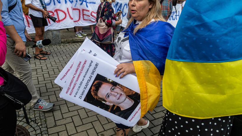 protest Ukraińców