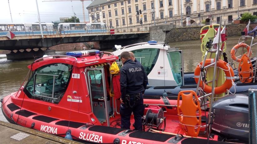 Wrocław. Wyłowiono ciało mężczyzny z Odry