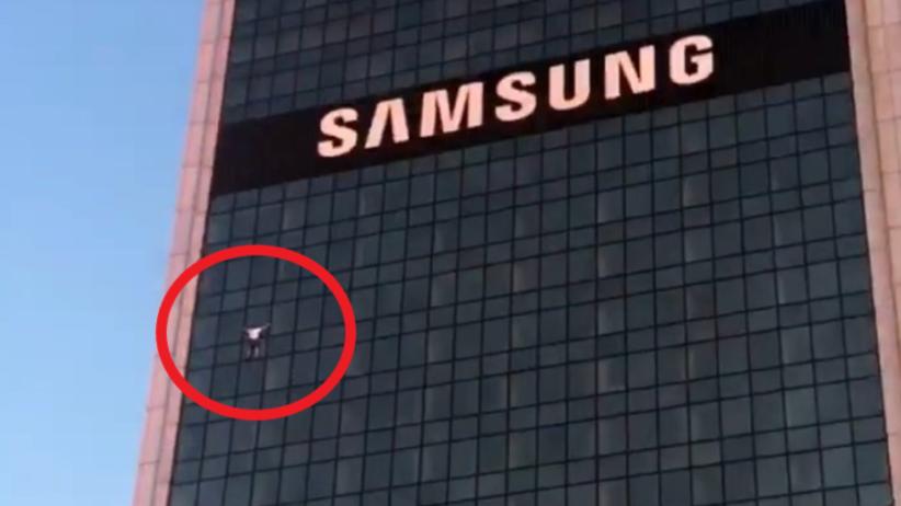 Wspiął się na hotel Marriott. Wiemy, kim jest 31-latek