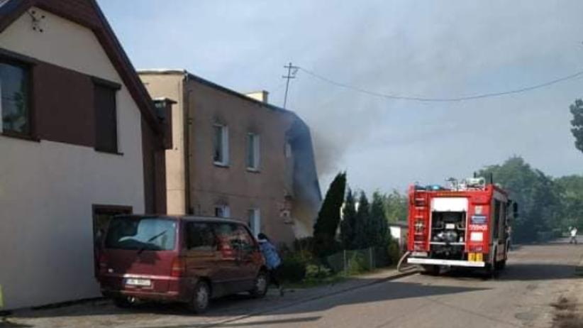 Wybuch gazu w Choczewie