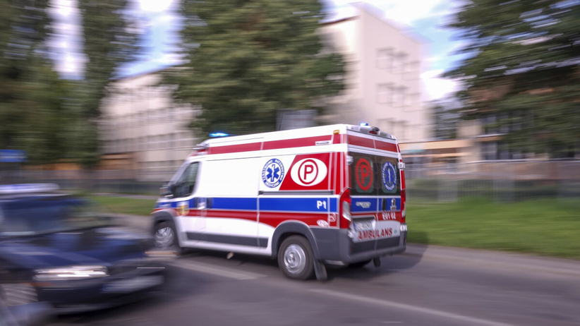 Wypadek koło Budzynia - zdjęcie ilustracyjne