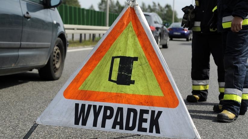 Wypadek na A2. Korek pomiędzy węzłami Poznań Wschód a Poznań Krzesiny