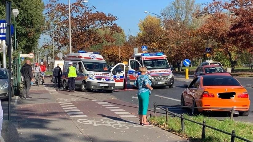 Wypadek na Bielanach