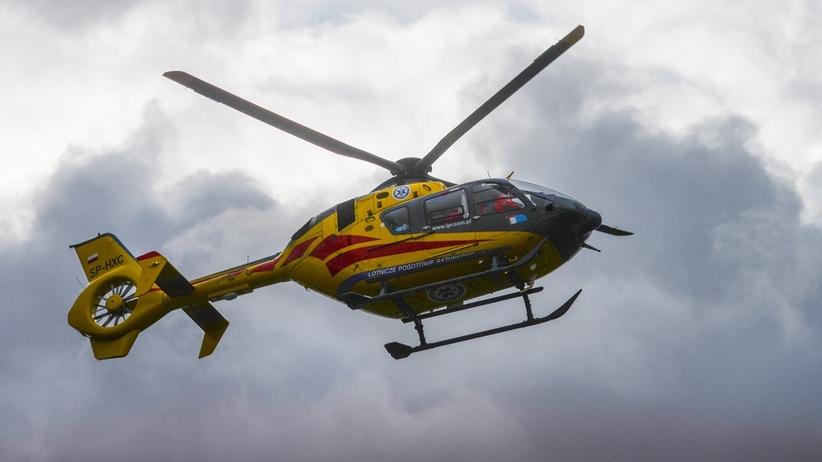 Wypadek na Zakopiance. Nie żyje jedna osoba, a 9 jest rannych