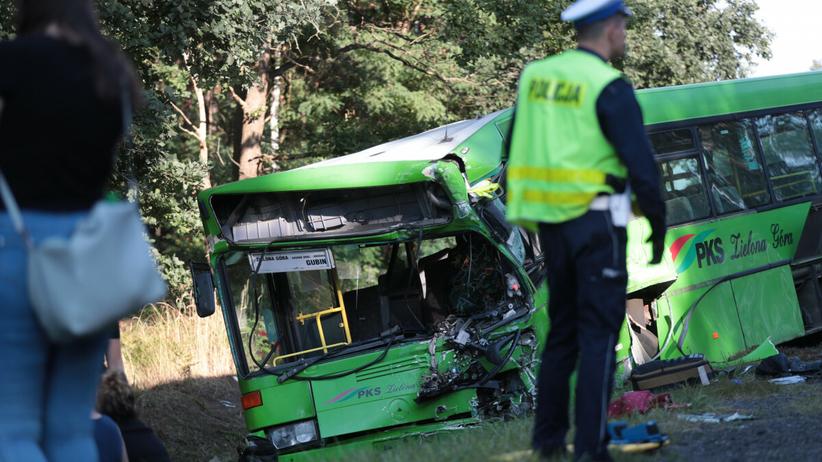 Wypadek w okolicach Zielonej Góry