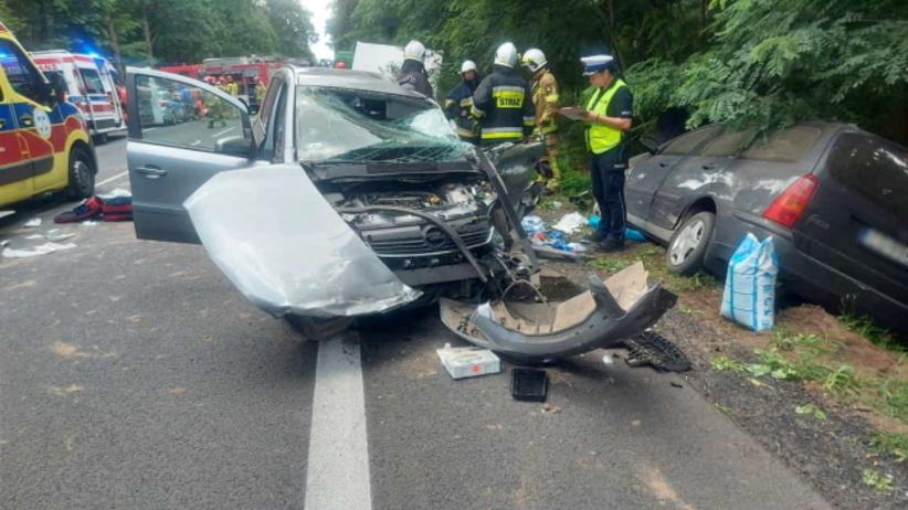 wypadek w Budzyniu