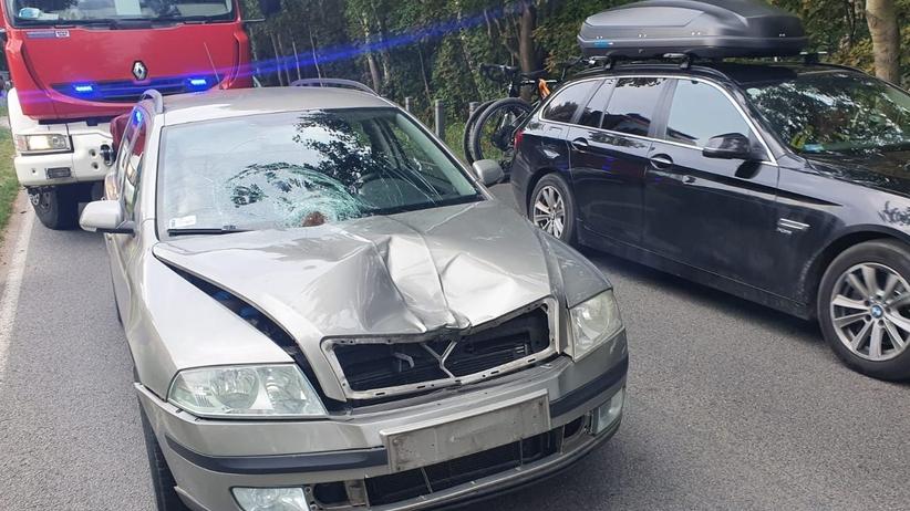 Wypadek w Chałupach