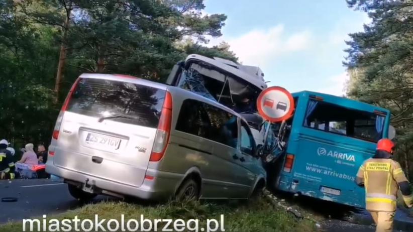 Wypadek w Dźwirzynie