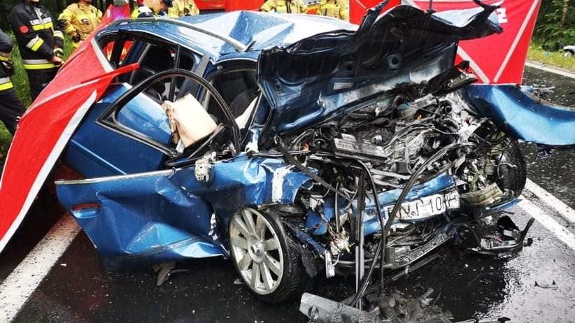wypadek w Jamnicy