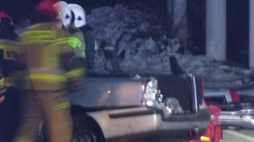 wypadek w Konradowie