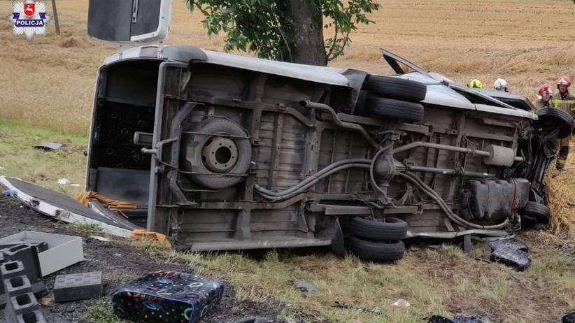 Wypadek w Lechówce