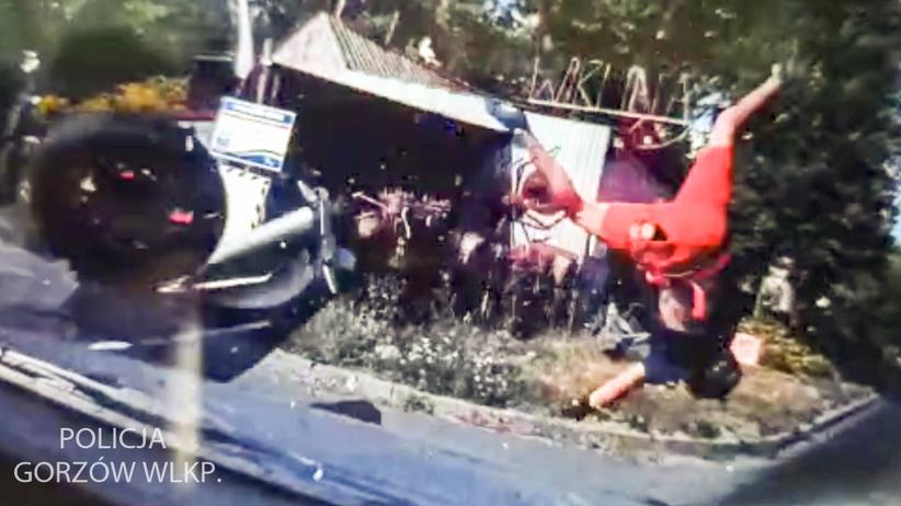 wypadek w Łupowie
