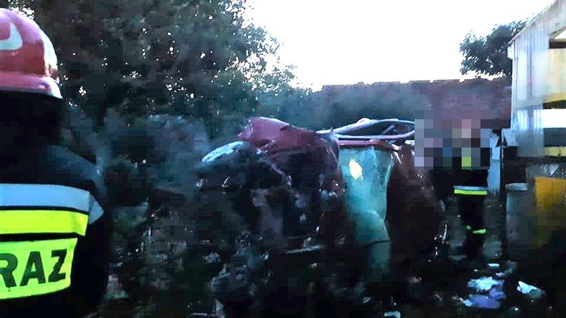 wypadek w Podolinie