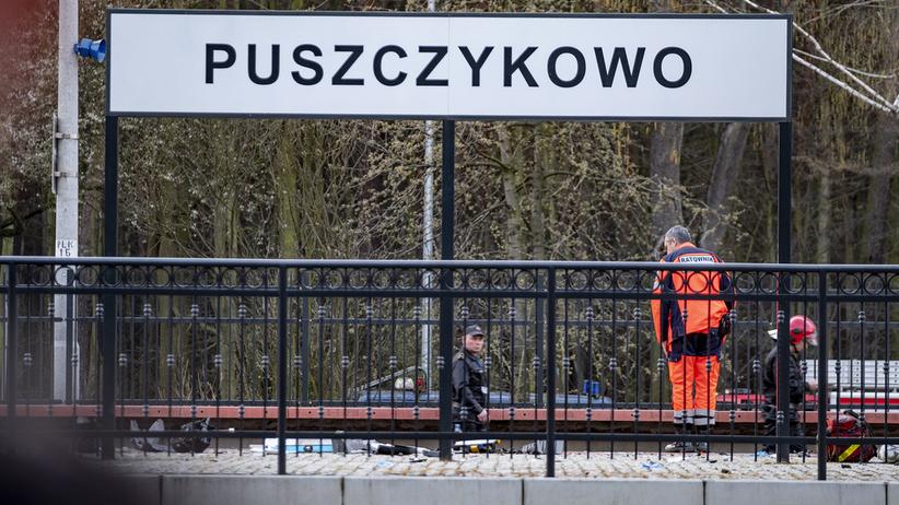 Wypadek w Puszczykowie