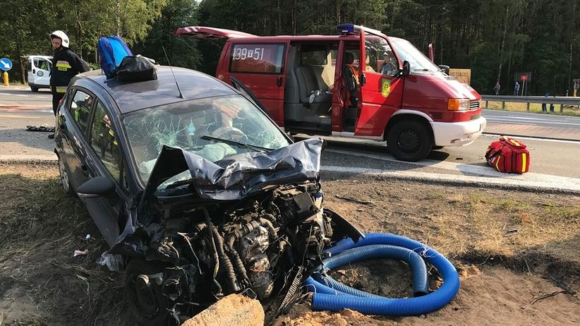 Tragiczny wypadek w Rudzie Malenieckiej. Zginęły dwie osoby